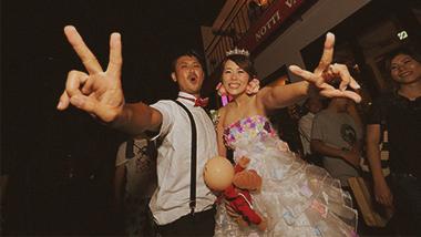 結婚式⼆次会パックプラン 2H飲み放題