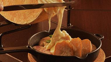ラクレットチーズコース 2H飲み放題